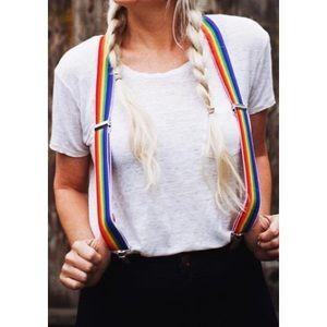 Groovy Rainbow Suspenders🌈
